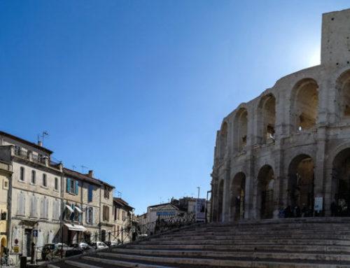 Flucht vor dem ersten Herbststurm nach Fontvieille & Arles oder ist es nur der Mistral?